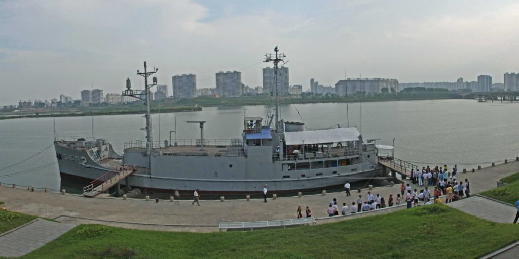 a-us-navy-ship-captured-by-north-korea-in-1968-has-suddenly-gone-missing