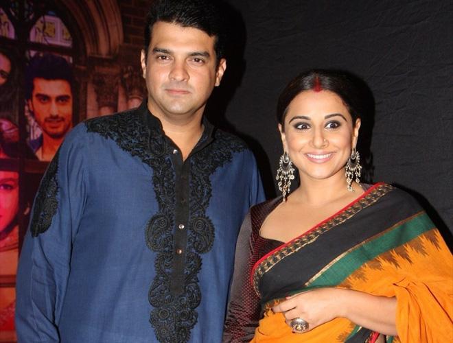 Vidya Balan And Sidharth Roy Kapoor