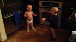 Talking Twin Babies