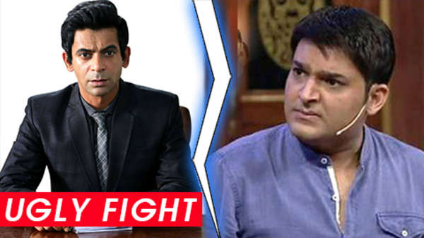 Kapil Sharma Sunil Grover UGLY Fight In on plane