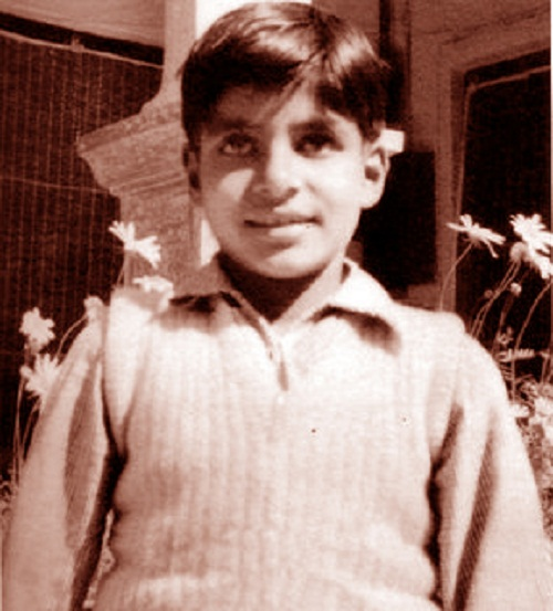 Amitabh Bachchan childhood pics