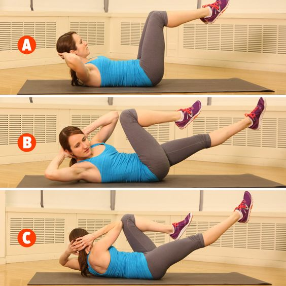bicycle exercise for six pack abs