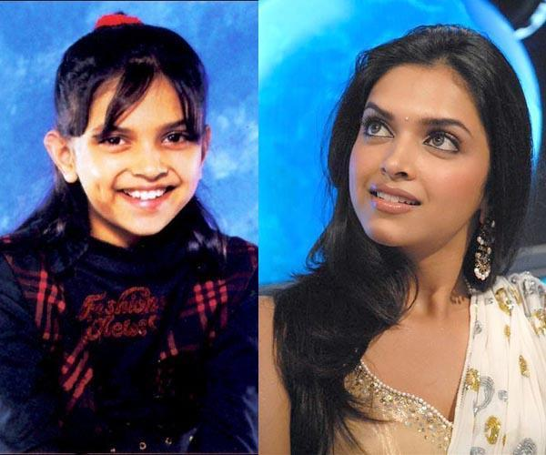 deepika padukone childhood images