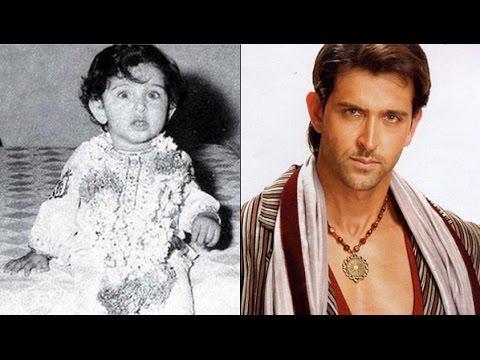 hrithik roshan childhood image