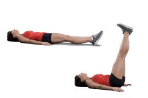 leg raises exercise for six pack abs
