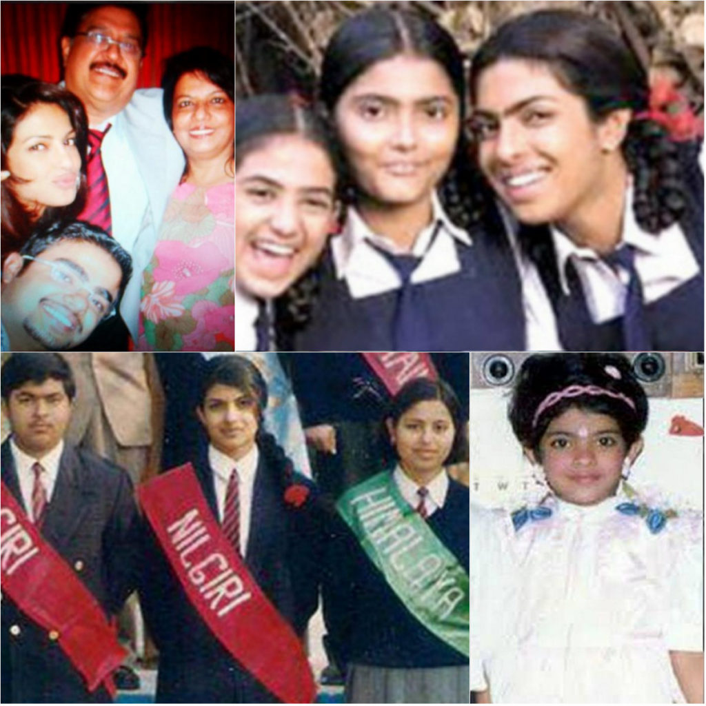 priyanka chopra childhood images