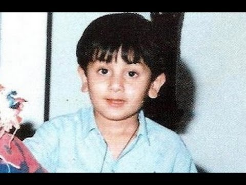 ranbir kapoor childhood images