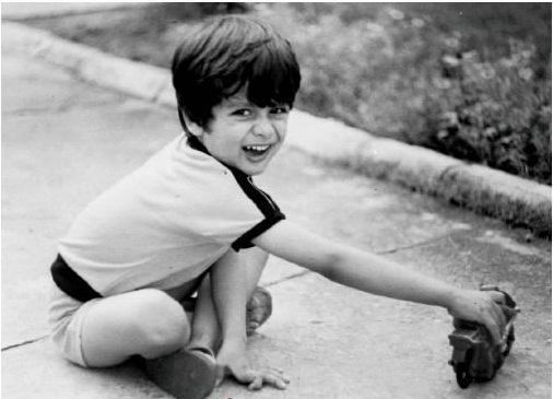 shahid kapoor childhood photo
