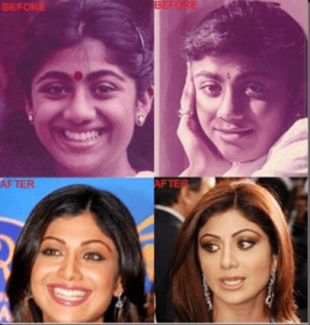 shilpa sheety without makeup