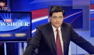 arnab goswami news channel launch