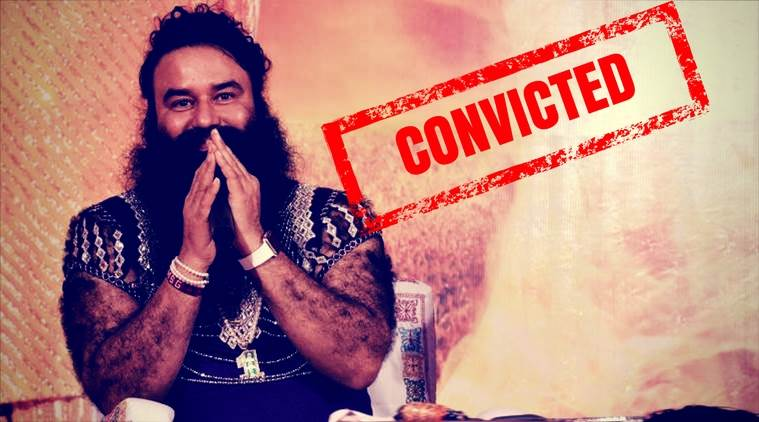 Baba Gurmeet Ram Rahim Singh sentenced to 10 years of imprisonment
