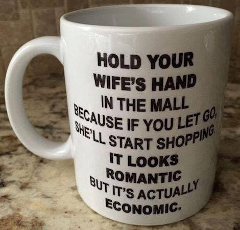 Why You Should Hold Your Wife Hand in Mall…?