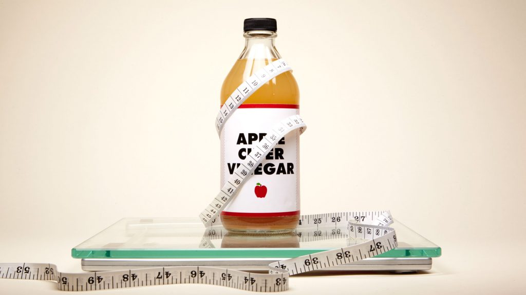 apple cider vinegar weight